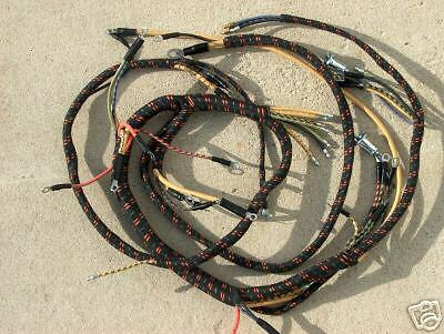 46 1946 Ford Truck Dash Wiring Exact Cloth Wiring Style V 8