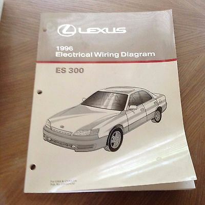 1998 LEXUS ES 300 Wiring Diagram Manual Original ES300 Electrical