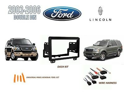 2003-2006 FORD EXPEDITION, Lincoln Navigator Stereo Install Dash Kit