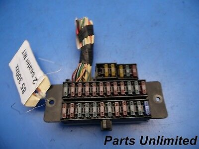 85 300zx Fuse Box Index listing of wiring diagrams