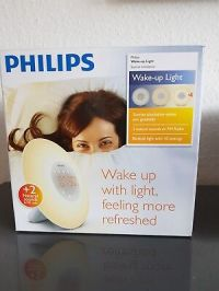 PHILIPS Wake Up Light HF3506/30 Lichttherapie Lichtwecker ...