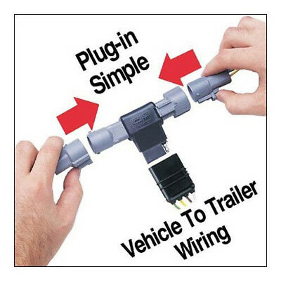 HOPKINS TOWING SOLUTION 42475 Trailer Wire Harness Plug-In Simple