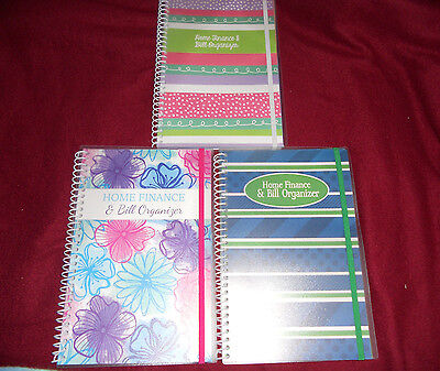 BILL ORGANIZER AND Monthly Home Finance With Pockets Styles To