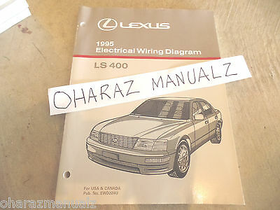 1999 LEXUS LS 400 Wiring Diagram Manual NEW Original LS400 OEM