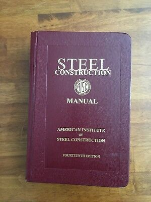 aisc steel construction manual 14th edition second printing