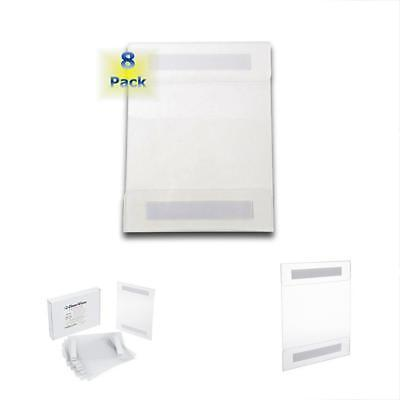 UNIVERSAL WALL MOUNT Sign / Memo Holders By Clearview Set Of 8 - how to sign a memo