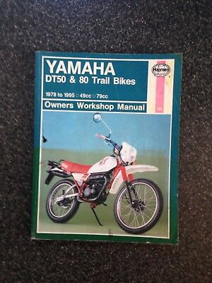 HAYNES YAMAHA DT 50 80 Mx Work Shop Manual Trail Bike - £500