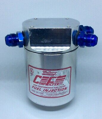 FUEL FILTER-COMP FILTER 140 Series; High Efficiency Mallory 3140