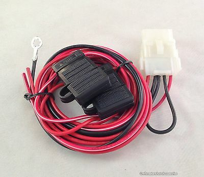 TRUCK CAP WIRING harness for third brake light and 12 volt dome