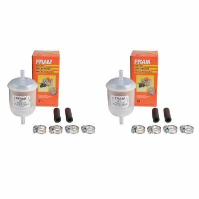 IN-LINE FUEL FILTER fits 1942-1962 Studebaker M5 2R16,2R16A,2R17