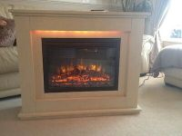 Electric Fireplace And Surround  90.00 - PicClick UK