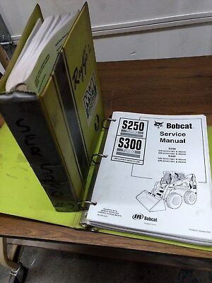 BOBCAT MODELS S250  S300 Skid Steer Loader Electrical Wiring