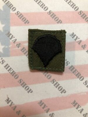 US ARMY RANK E4 CORPORAL (SUBDUED) Military Veteran Hat Pin P12751