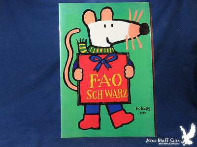 1999 FAO SCHWARZ Holiday Catalog Christmas Toy Book - $800 PicClick - christmas toy sales