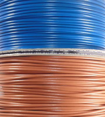 60M DCC LAYOUT wire - Track Bus 32/02 30m of Blue and 30m of Brown