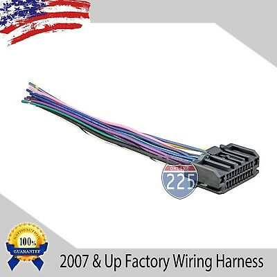 CAR STEREO WIRING Harness Factory Radio Male Plug Chrysler Dodge