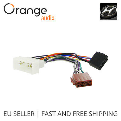 WIRING LEAD HARNESS Adapter for Nissan X-Trail 2005- ISO stereo plug