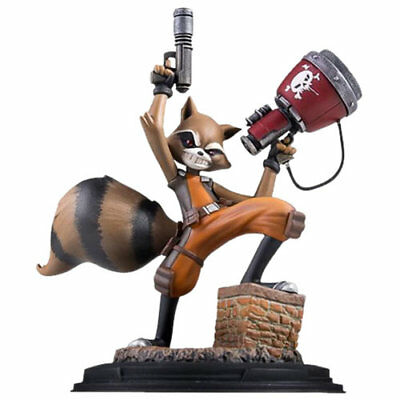 NEW MARVEL STATUES - 1/8 Scale Animated Rocket Raccoon SDCC 2016
