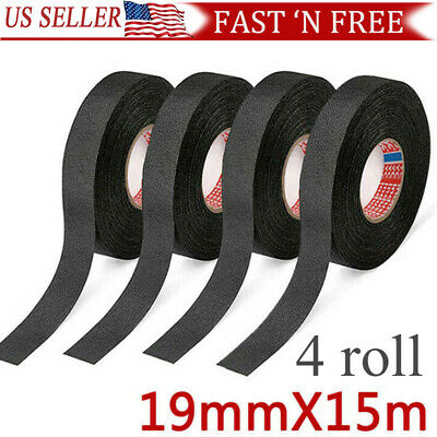 5 ROLLS CLOTH Tape Wire electrical wiring harness car auto suv truck