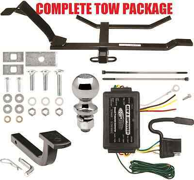 1998-2010 VOLKSWAGEN VW Beetle Complete Trailer Hitch Package ~ Fast
