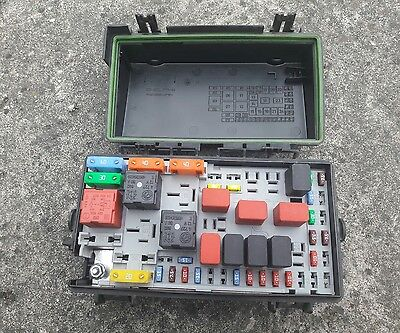 156247) FIAT GRANDE Punto Fuse box engine bay 51744837BZ - £2000