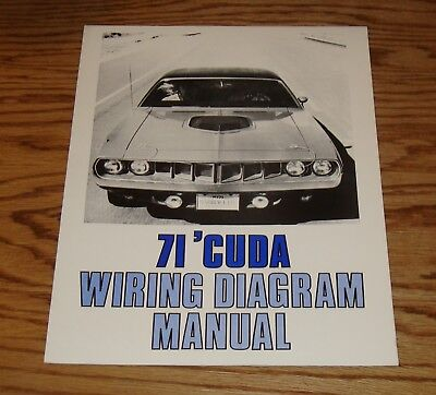71 Barracuda Wiring Diagram Wiring Schematic Diagram