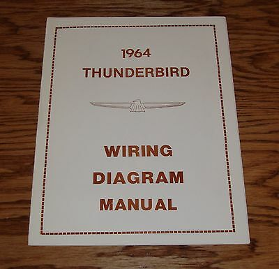 1964 FORD THUNDERBIRD Wiring Diagram Manual 64 - $900 PicClick