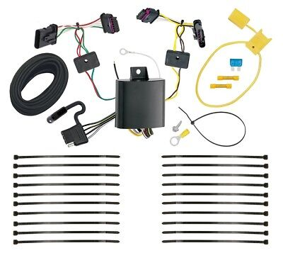 TRAILER WIRING HARNESS Kit For 94-98 Jeep Grand Cherokee ZJ All