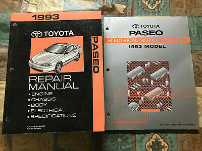 1993 Toyota Paseo Engine Diagram Index listing of wiring diagrams