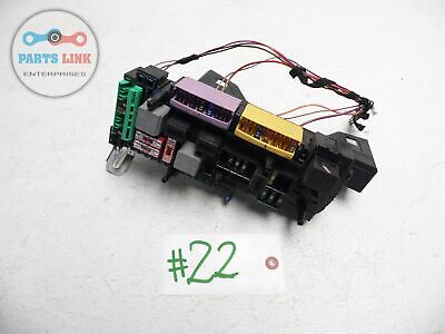 08 09 MERCEDES-BENZ C300 FUSE BOX SAM MODULE 2045458201 OEM
