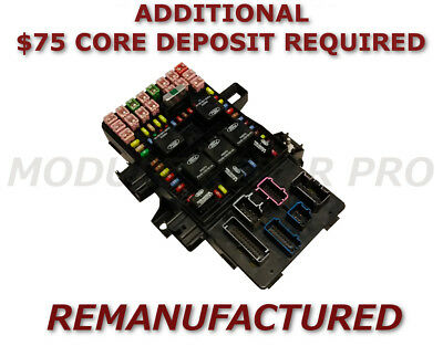 1999-2002 FORD EXPEDITION Multifunction Fuse Box 1L1T14A067AA Module