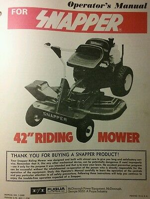 GILSON LAWN TRACTOR Service  Parts Manual 42pg Riding Mower 52037