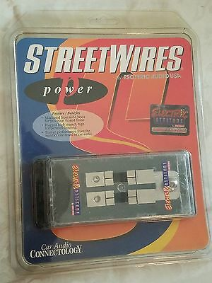 STREETWIRES POWER MAXI Fuse Holder 44104 By Esoteric Audio USA