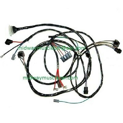 FRONT END HEADLIGHT wiring harness Chevy pickup truck blazer