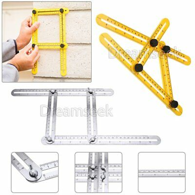 STAINLESS STEEL / ABS Measuring Tool Multi-Angle Template Instrument