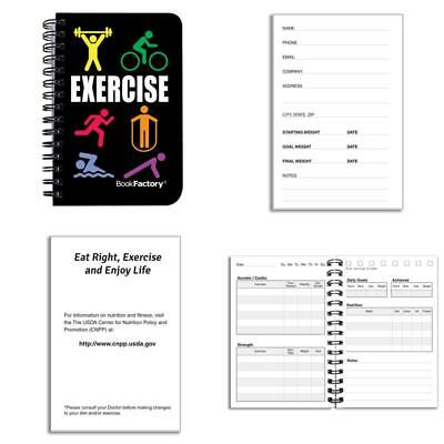 BODYMINDER WORKOUT JOURNAL EXERCISE LOG FITNESS DIARY - $1450