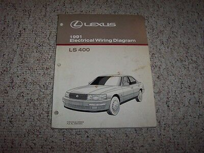 1991 Lexus Ls 400 Wiring Diagram Manual Original - Wiring Diagrams