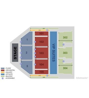2 TIX Terry Fator 9/6 The Theater at MGM National Harbor - $36800