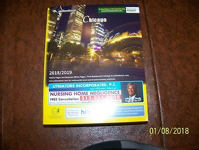 CHICAGO USA PHONE Book Yellow Pages  Business White Pages 2018-2019 - business phone book