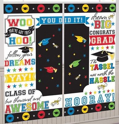 GRADUATION BANNER  Free Keychain, Poster Sign Background Wall
