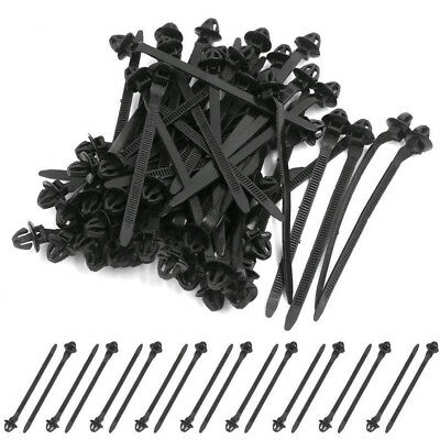 54PC CAR RETAINER Assortment Moulding Wire Harness Clip for Loom