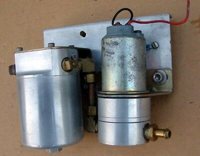 MALLORY ELECTRIC COMP Fuel Pump Series 70  Filter 140 - $11995
