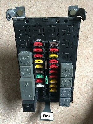 ALFA ROMEO GTV  SPIDER 916 FUSE BOX with relays and fuses vgc