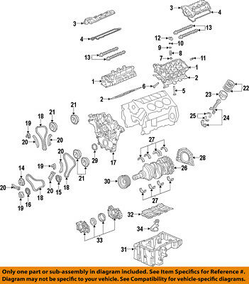 GM OEM-ENGINE CRANKSHAFT Main Bearing 12648786 - $1537 PicClick