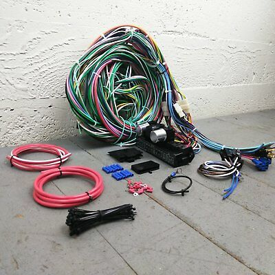 1953 - 1954 Chevrolet Bel Air Wire Harness Upgrade Kit fits painless