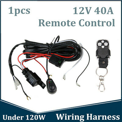 4 HEADLIGHT RELAY Wiring Harness H4 Headlamp Light Bulb Ceramic
