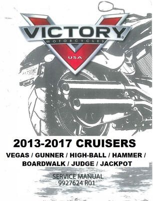 VICTORY JUDGE / Jackpot motorcycle 2013 2014 2015 2016 2017 service