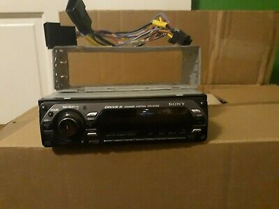 SONY CDX-GT300 CAR Radio Stereo 16 Pin Wiring Harness Loom ISO Lead