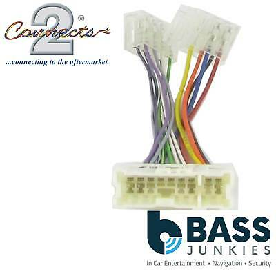 ISO RADIO / Stereo harness / adapter / wiring connector for Nissan X