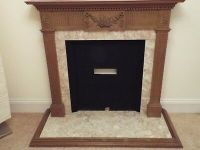 Marble Fireplace Insert  8.00 - PicClick UK
